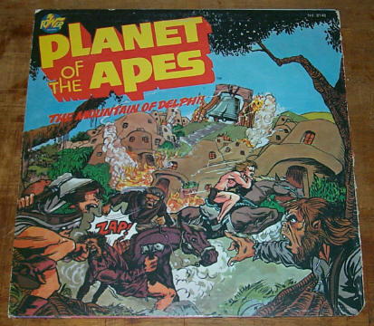 Planet of the Apes LP record